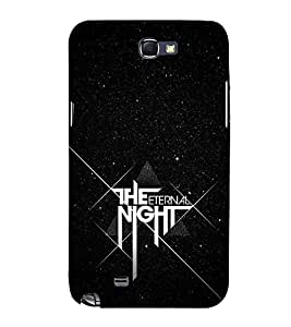 FUSON The Eternal Night 3D Hard Polycarbonate Designer Back Case Cover for Samsung Galaxy Note N7000 :: Samsung Galaxy Note I9220 :: Samsung Galaxy Note 1 :: Samsung Galaxy Note Gt-N7000