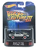 Back To The Future 1955 Time Machine 'Back To The Future Part Iii' Hot Wheels 2015 Retro Series 1/64 Die Cast Vehicle