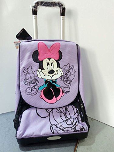 ZAINO TROLLEY DISNEY MINNie LILLA
