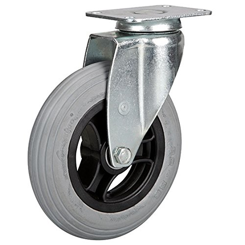 Lenkrolle 150 mm Luftrad mit Kunststoff-Felge -