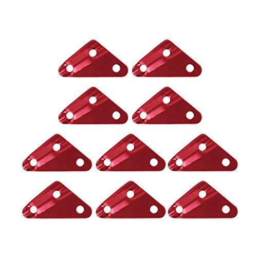 10 Stk.Dreieck Zeltleinenspanner Dreilochspanner Zeltzu… | 00612058629470