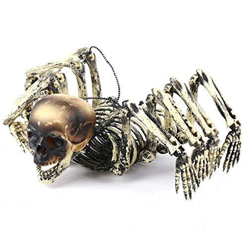 loween Horror bar Haunted House dekorative acht-Klaue Skelett Skelett lustige Spinne Skelett ()