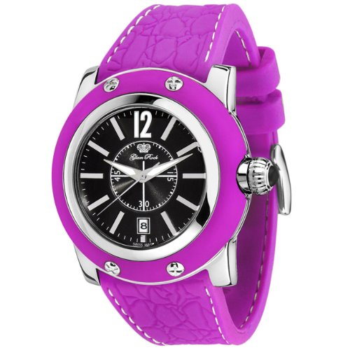 Glam Rock Women's GR30019PPF Summer Time Collection Purple Silicone Watch