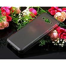 Prevoa ® 丨Funda protectora de silicona para XiaoMi Mi 2 Mi2 M2 2S Mi2S cover case --- Negro
