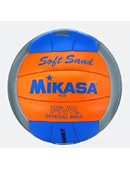 Mikasa Beachvolleyball Soft, grau, 5, 4002458