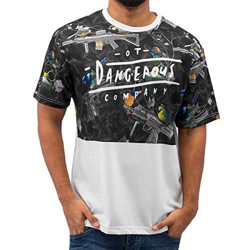 Dangerous DNGRS OT Company Herren T-Shirt Weiß Weiß