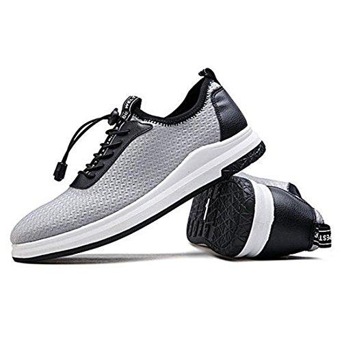 Chaussures De Sport Pour Hommes Printemps Été Chaussures De Course Chaussures En Tissu Gris