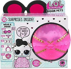 MGA Entertainment L.O.L. Surprise! Biggie Pet - Dollmatian Chica - Kits de Figuras de Juguete para niños (Multicolor, Chica, 12 año(s), De plástico, Animales, Caja Cerrada con Ventana)