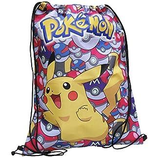51ca34ueqfL. SS324  - Pokemon Pikachu Bolsa de Deporte