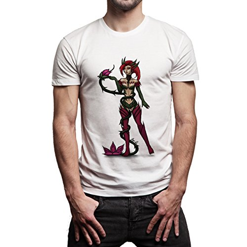 League Of Legends Fans Art Zyra Herren T-Shirt Weiß