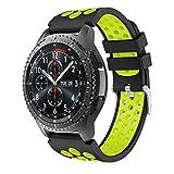Yayuu Samsung Galaxy Watch 46mm/Gear S3 Bracelets de Montre, Bande de Remplacement en...