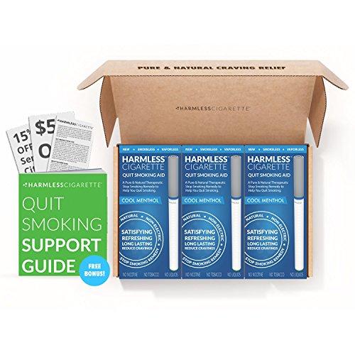 Harmlos Zigarette Quit Smoking Aid/natur Habit Ersatz/STOP Rauchen Remedy zu helfen Sie Quit Smoking Fast & Easy. Jetzt besser als Nikotin Patches, Nikotin Gum & Lutschtabletten.