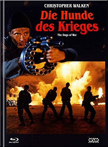 Hunde des Krieges - The Dogs of War [Blu-Ray+DVD] - uncut - limitiertes Mediabook Cover A