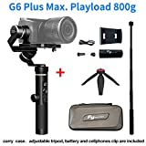 FeiyuTech G6 Plus 3-Axis Brushless Handheld Gimbal Stabilizer Splash-Proof 800g Payload 12 Hours...