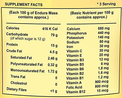 Endura Mass Weight Gainer - 500 g (Banana)