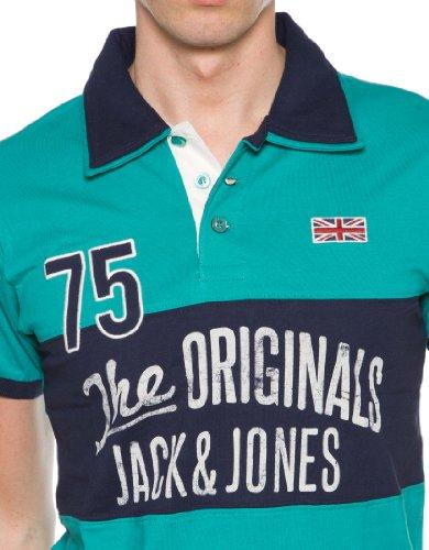 Jack & Jones Herren Polohemd GAIL Polo Grün