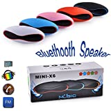 Vivo V7 Compatible Bluetooth Speaker With FM | Pendrive SD Card Input | MP3 Music Player | Portable Device | Handsfree | Mic | Stereo Speaker | Mini Speaker | High Definition Audio Compatible With Android Devices Capsule Pill Car Outdoor Speaker By Mobiva