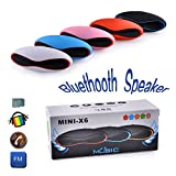 #7: Sony Xperia XZ Premium compatible Bluetooth Speaker with FM | Pendrive SD card input | MP3 music player | Portable Device | Handsfree | Mic | Stereo speaker | mini Speaker | High Definition Audio Compatible with Android Devices capsule pill car outdoor speaker by Mobivax