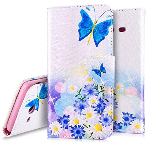 Ukayfe Custodia Cover Samsung Galaxy J5 2017 Flip Cover Wallet Case Custodia Pelle PU Protettiva Portafoglio Cover con Pittura Colorata Copertura per