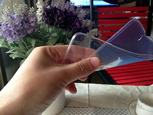 Cover iPhone 6 Plus Custodia telefono creativo trasparente silicone Guscio morbido Anti Graffio Copertura protettiva Anti-polvere paraurti Si applica a iPhone 6/6S Plus(5.5) disegno-34