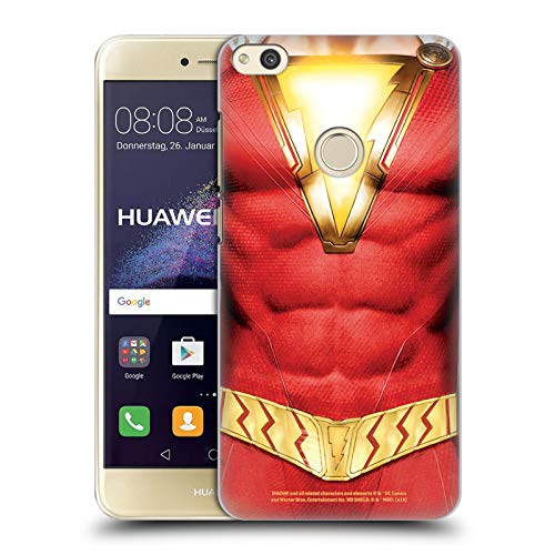 Head Case Designs Offizielle Shazam DC Comics Kostuem Logos Harte Rueckseiten Huelle kompatibel mit Huawei P8 Lite (2017)
