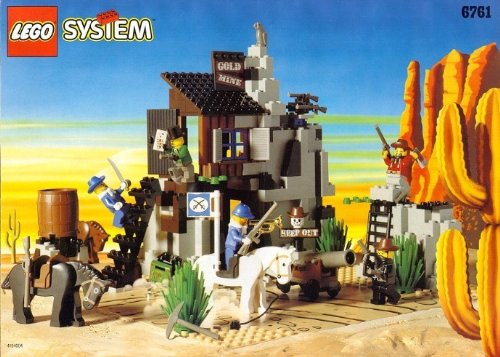 Preisvergleich Produktbild LEGO System Western 6761 Alte Goldmine