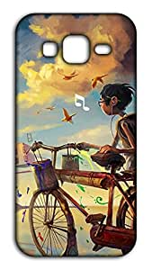 Happoz Painter's Cycle Coolpad Note 3 Lite back cover Mobile Phone Back Panel Printed Fancy Pouches Accessories Z1079
