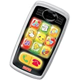 Fisher-Price Laugh & Learn Smilin' Smart Phone (English) by Fisher-Price
