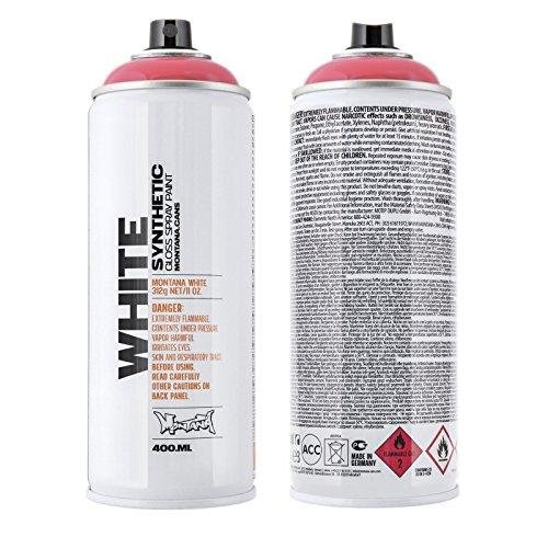 Preisvergleich Produktbild Montana White 3350 lotus,  400 ml Sprühdose glänzend