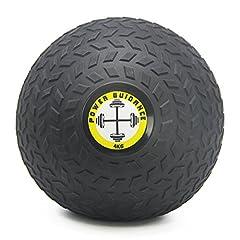 Idea Regalo - POWER GUIDANCE - Palla Slam Wall Ball Palla Medica con superficie strutturata di facile presa e un rivestimento in gomma ultra durevole, 4kg