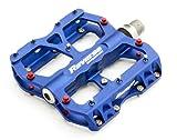 Reverse Escape Flat Fahrrad Pedal blau