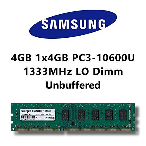 Samsung 4GB 1x 4GB DDR31333MHz PC310600U