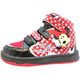 Minnie Mouse Girl's Heart Synthetic Boots