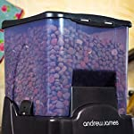 Andrew James Automatic Pet Feeder | Extra Large Pet Food Dispenser with Timer | 10.6L 90 Day Capacity | 10 Portion Sizes… 16
