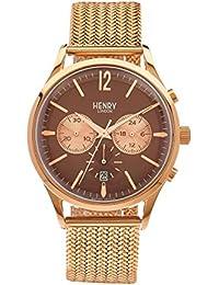 Henry London ltext-orologio Cronografo in acciaio inox Harrow luenette HL41 - CM-0056 (Ricondizionato Certificato)