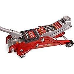 Forever Speed Cric Hydraulique Rouleur 2T Professionnel, cric rouleur 2 tonnes, Hauteur de levage 89 à 359mm