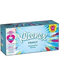 Kleenex Family Mouchoirs Boite de 140 - Lot de 5
