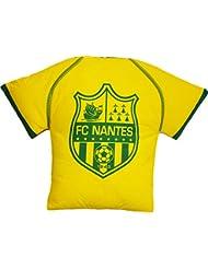Coussin Maillot FC NANTES - Déco maison Chambre Lit sallon - Collection officielle FC NANTES ATLANTIQUE - Taille 40 x 40 cm