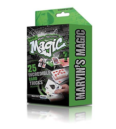 Marvin`s Magic 54068 - Zauberkasten Marvin`s unglaubliches magisches Themen Set - unfassbare Kartentricks