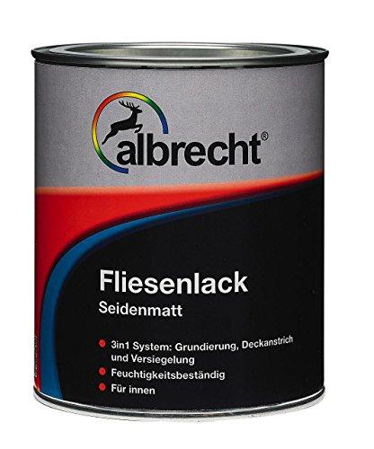 Albrecht Fliesenlack weiß seidenmatt 750ml