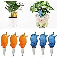 ALEIS - Regadera automática para plantas de cerámica de plástico con ...