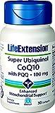 Super Ubiquinol CoQ10 with BioPQQ, 100 mg, 30 Softgels - Life Extension