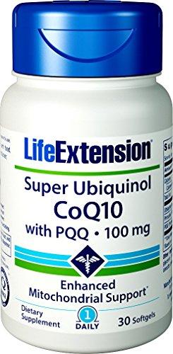 Super Ubiquinol CoQ10 with BioPQQ, 100 mg, 30 Softgels - Life Extension -