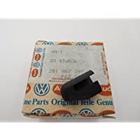 Volkswagen Original VW cover cap satin black - 281867397 01C