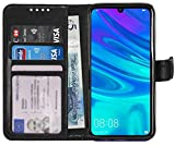 Gadget Giant Wallet Case for Huawei P Smart 2019 PU Leather