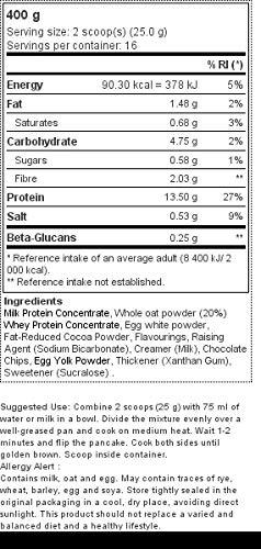 Zoom IMG-1 prozis pancake protein di avena