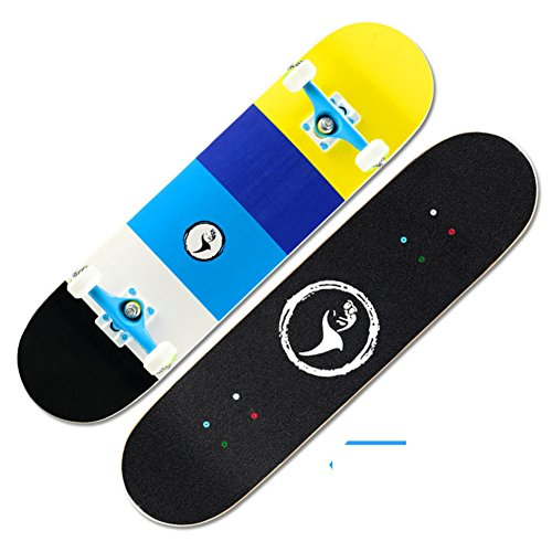 Skater profesional/Doble-para arriba patines/Vespa/Cepillo adulto Street skateboarding-H