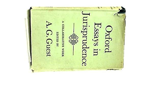 oxford essays in jurisprudence st series amazon co uk a g  oxford essays in jurisprudence 1st series amazon co uk a g guest 9780198251491 books