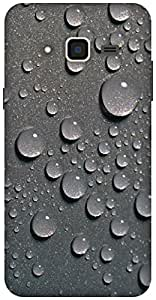 The Racoon Grip Raindrops hard plastic printed back case / cover for Samsung Galaxy J3(2016)