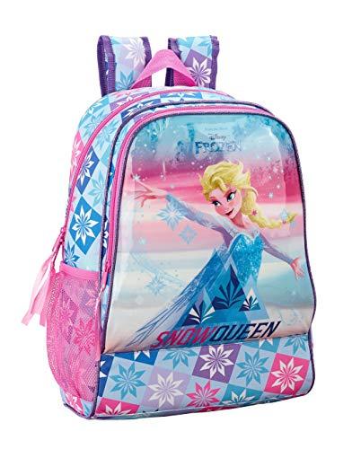 "Frozen ""Ice Magic"" Oficial Mochila Infantil, Adaptable a Carro Safta, 330x420x140 mm"